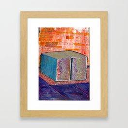 Donald Judd Machined Al Framed Art Print