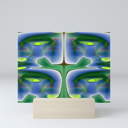 Abstract savvy ... Mini Art Print