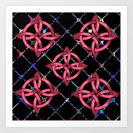Celtic Knots Art Print