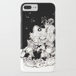 Catlady Dreams iPhone Case
