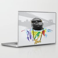 notorious Laptop & iPad Skins featuring Notorious by Tecnificent