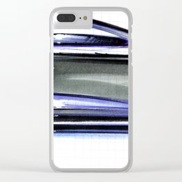 Sexy Coupé Clear iPhone Case