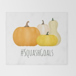 #SquashGoals Throw Blanket