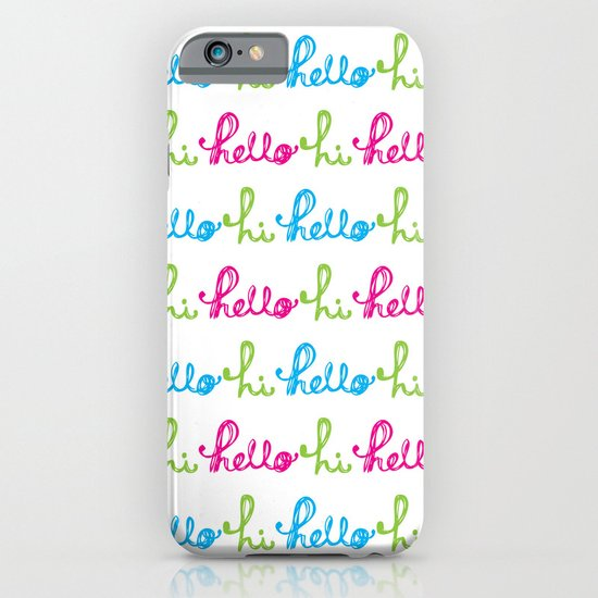Hello Hi iPhone & iPod Case