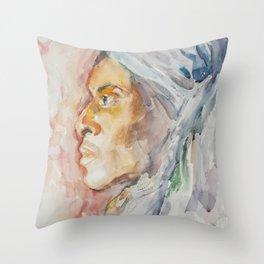 Ethno Style Moroccan in Casablanca Throw Pillow