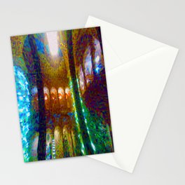 hall of miracles Stationery Cards