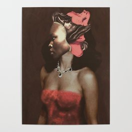 Masked lady Poster