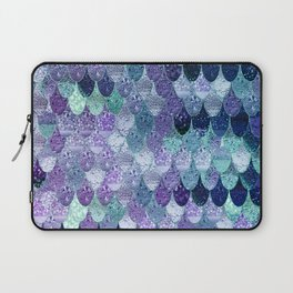 SUMMER MERMAID  Purple & Mint by Monika Strigel Laptop Sleeve