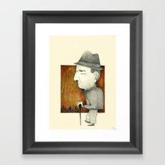 Cesare Framed Art Print