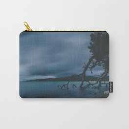 Twilight Tree Roots and Ocean New Zealand Carry-All Pouch