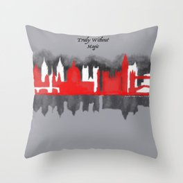 No London is Truly Without Magic - A Darker Shade of Magic Throw Pillow