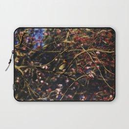 Robin in Cherry Tree Laptop Sleeve