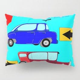 Car, Carro, Coche, Voiture, Wagen Pillow Sham