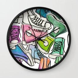 Sneaker Party Wall Clock