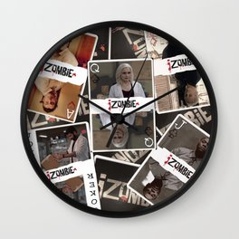 Izombie Playing Cards Wall Clock
