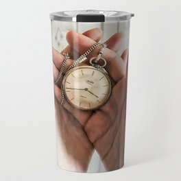 time in your hands Travel Mug