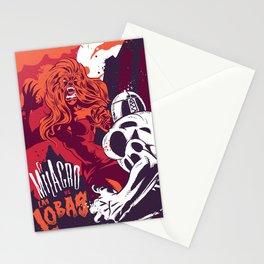 El Milagro VS Las Lobas Stationery Cards