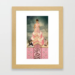 Gluttony (7 Deadly Sins Series) Framed Art Print