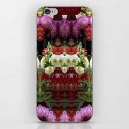 WENT TO A GARDEN PARTY iPhone Skin