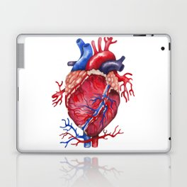 Watercolor heart Laptop & iPad Skin
