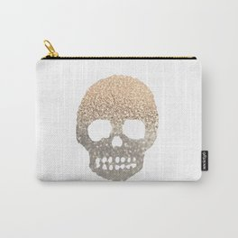 GOLD SKULL Carry-All Pouch
