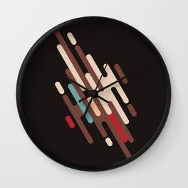 Choco Rain Wall Clock
