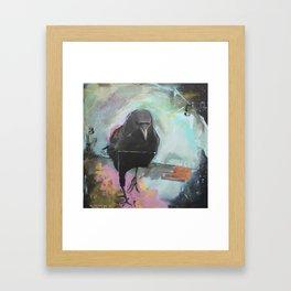 Crow2 Framed Art Print