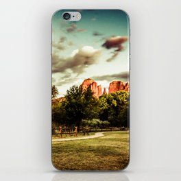 Southwest Chimney Rock Vortex Sedona Arizona iPhone Skin
