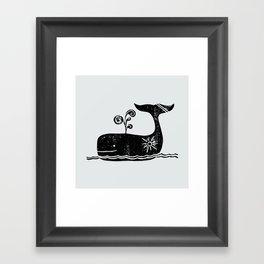 Sunny Sailing Framed Art Print