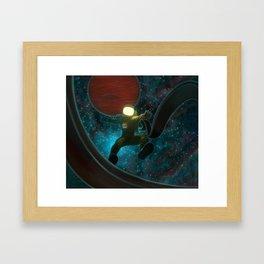 Cosmonaut: Untethered Framed Art Print