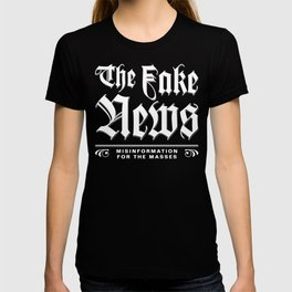 The Fake News Header T-shirt