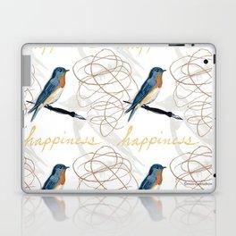 Bluebird of Happiness Laptop & iPad Skin
