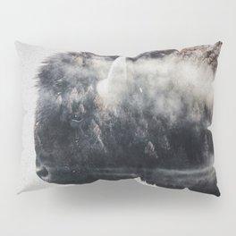 Wild West Bison Pillow Sham