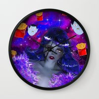 marceline Wall Clocks featuring Marceline by Sara Eshak