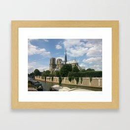 Sur la Seine Framed Art Print