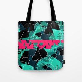 Crushing Contrast Tote Bag