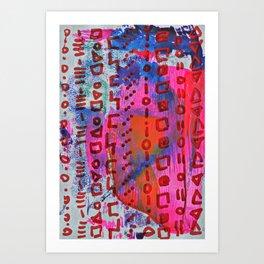 Magic Carpet #5 Art Print