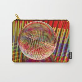 Criss Cross lights in the crystal ball Carry-All Pouch