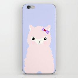 Alpaca in Love V 2 iPhone Skin