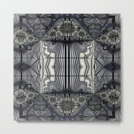 A Glass of Black Strap Rum Metal Print