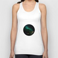 northern lights Tank Tops featuring Northern Lights in Tromso by Louise