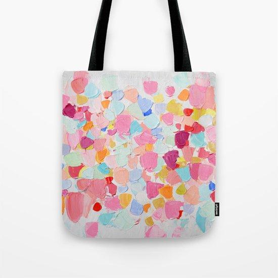 Amoebic Confetti Tote Bag