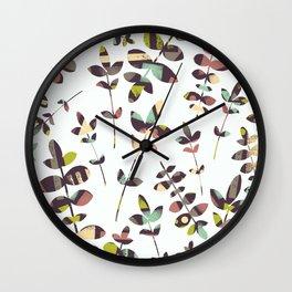Colorful Nature Wall Clock