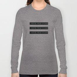 Spread the positivity! Long Sleeve T-shirt