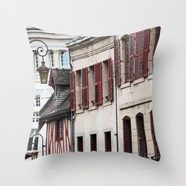 Windows in Dijon Throw Pillow
