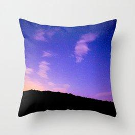 Sun Rise Sky Throw Pillow