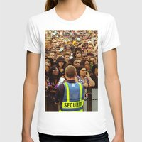 concert T-shirts featuring Concert Crowd by ThatRaulSanchez
