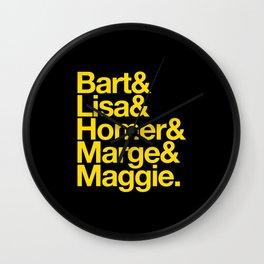 Simpsons Wall Clock