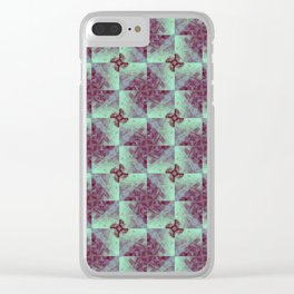 rock pool tile Clear iPhone Case