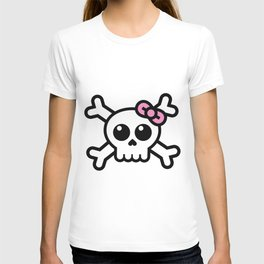 skull for girls T-shirt